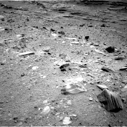 Nasa's Mars rover Curiosity acquired this image using its Right Navigation Camera on Sol 1100, at drive 2644, site number 49