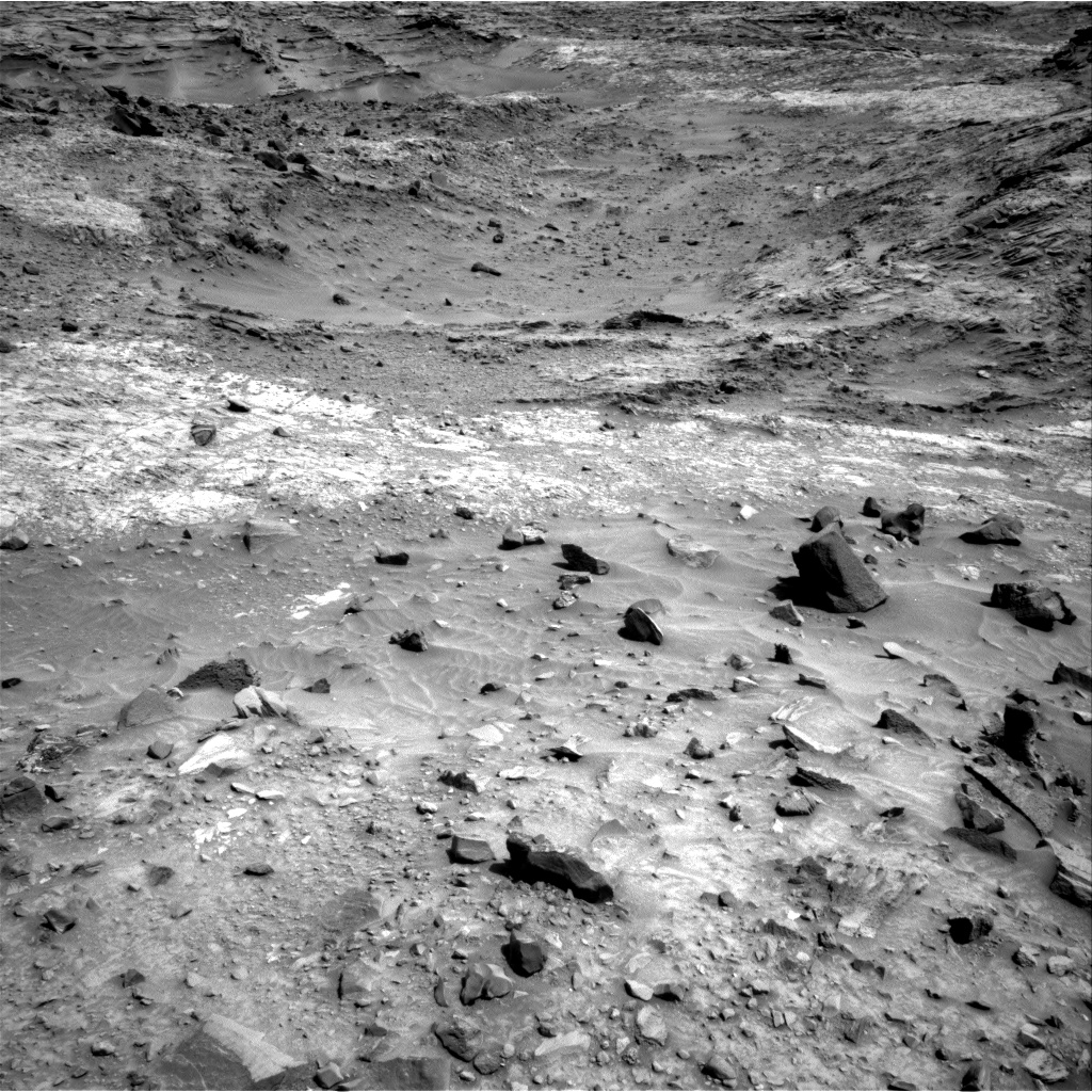 Nasa's Mars rover Curiosity acquired this image using its Right Navigation Camera on Sol 1100, at drive 2902, site number 49