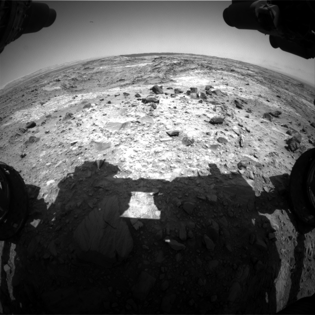 Nasa's Mars rover Curiosity acquired this image using its Front Hazard Avoidance Camera (Front Hazcam) on Sol 1101, at drive 2902, site number 49