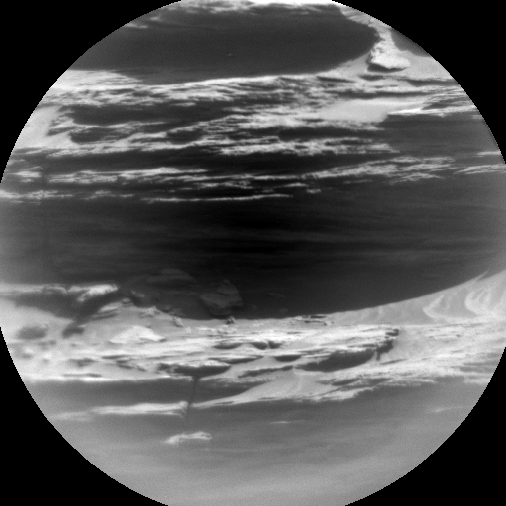Nasa's Mars rover Curiosity acquired this image using its Chemistry & Camera (ChemCam) on Sol 1101, at drive 2902, site number 49