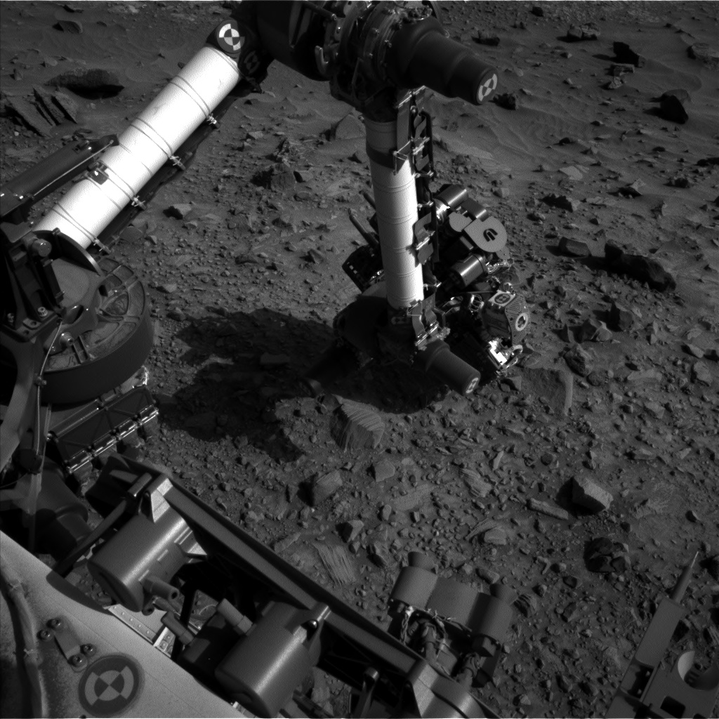 Nasa's Mars rover Curiosity acquired this image using its Left Navigation Camera on Sol 1102, at drive 2902, site number 49