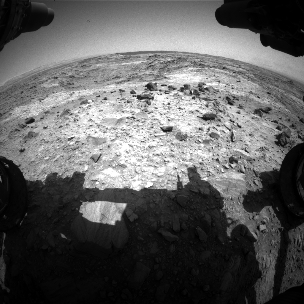Nasa's Mars rover Curiosity acquired this image using its Front Hazard Avoidance Camera (Front Hazcam) on Sol 1104, at drive 2902, site number 49