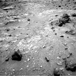 Nasa's Mars rover Curiosity acquired this image using its Left Navigation Camera on Sol 1104, at drive 2992, site number 49