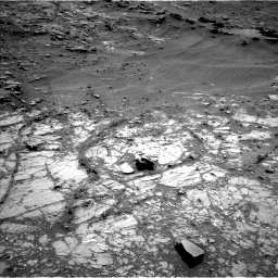 Nasa's Mars rover Curiosity acquired this image using its Left Navigation Camera on Sol 1104, at drive 3034, site number 49