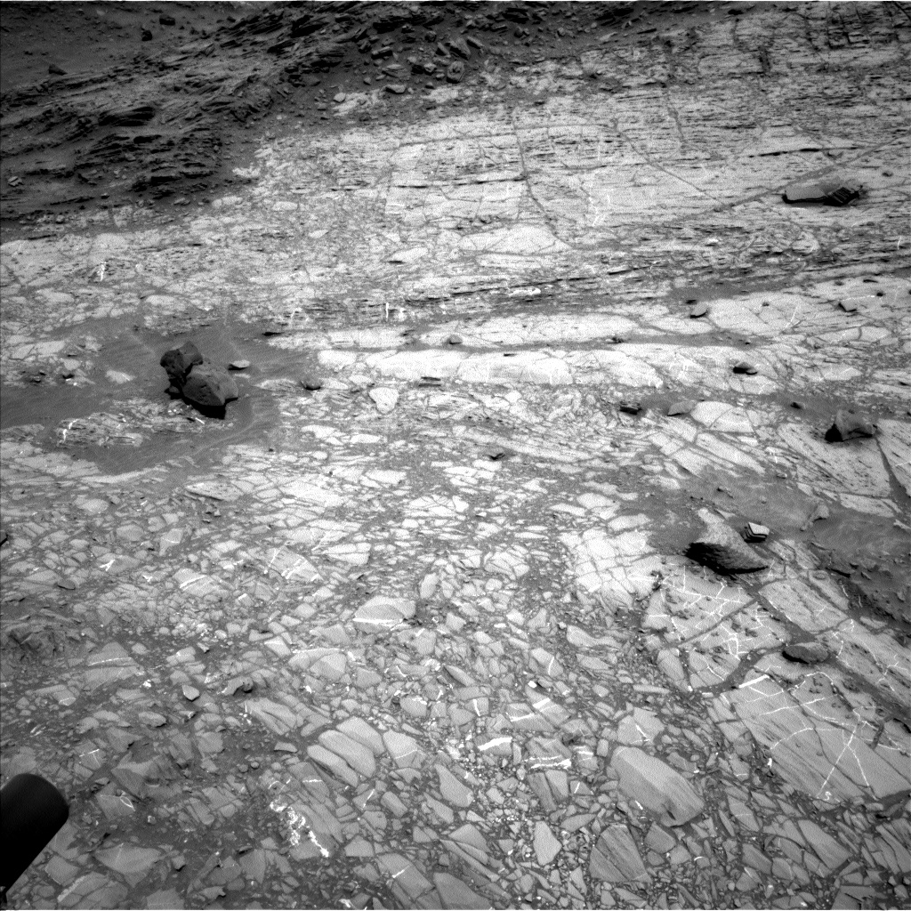 Nasa's Mars rover Curiosity acquired this image using its Left Navigation Camera on Sol 1104, at drive 3052, site number 49