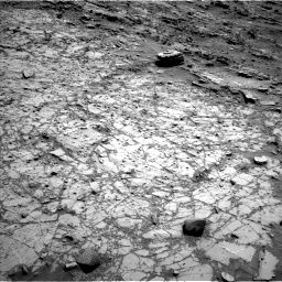 Nasa's Mars rover Curiosity acquired this image using its Left Navigation Camera on Sol 1104, at drive 3070, site number 49