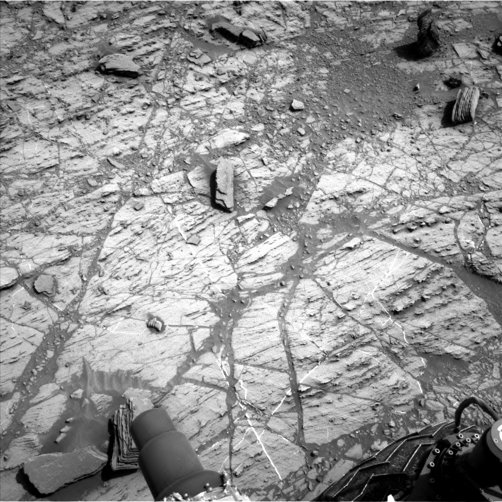 Nasa's Mars rover Curiosity acquired this image using its Left Navigation Camera on Sol 1104, at drive 0, site number 50