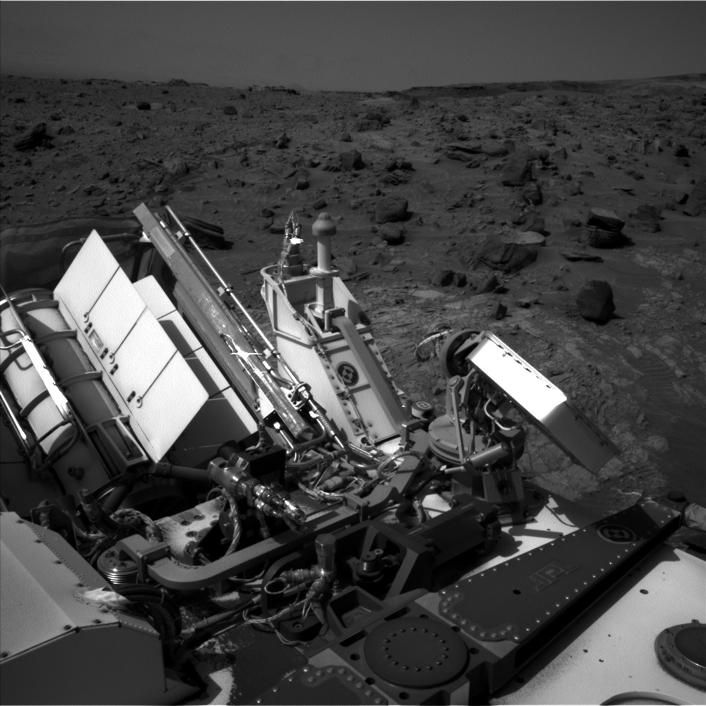 NASA's Mars rover Curiosity acquired this image using its Left Navigation Camera (Navcams) on Sol 1104