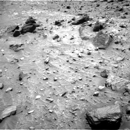 Nasa's Mars rover Curiosity acquired this image using its Right Navigation Camera on Sol 1104, at drive 2974, site number 49