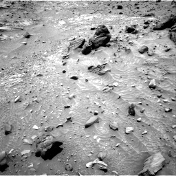 Nasa's Mars rover Curiosity acquired this image using its Right Navigation Camera on Sol 1104, at drive 2986, site number 49