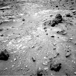 Nasa's Mars rover Curiosity acquired this image using its Right Navigation Camera on Sol 1104, at drive 2992, site number 49