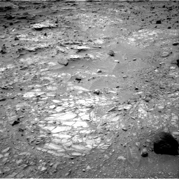 Nasa's Mars rover Curiosity acquired this image using its Right Navigation Camera on Sol 1104, at drive 3010, site number 49