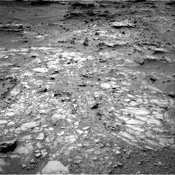 Nasa's Mars rover Curiosity acquired this image using its Right Navigation Camera on Sol 1104, at drive 3016, site number 49