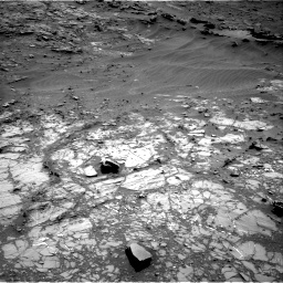 Nasa's Mars rover Curiosity acquired this image using its Right Navigation Camera on Sol 1104, at drive 3034, site number 49