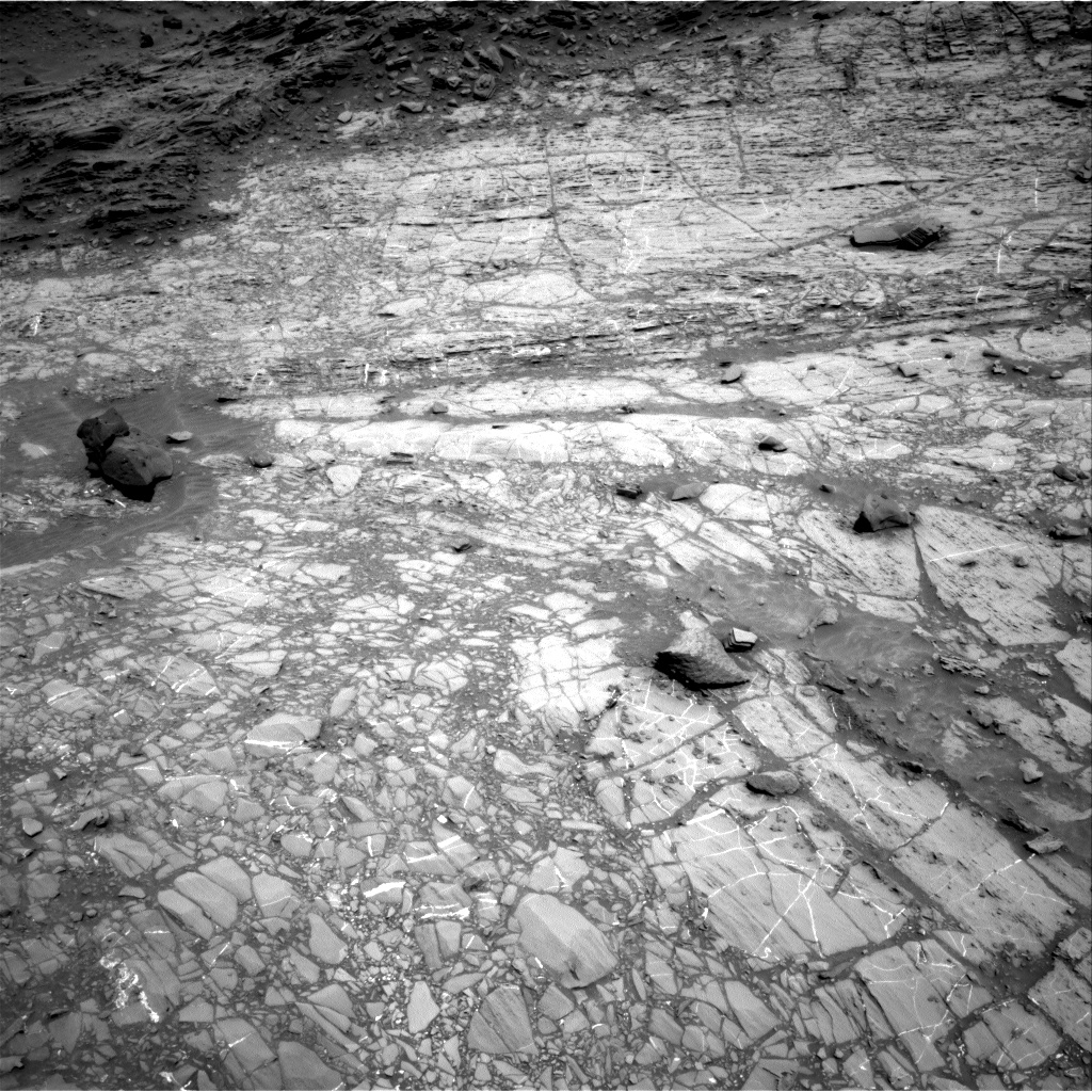 Nasa's Mars rover Curiosity acquired this image using its Right Navigation Camera on Sol 1104, at drive 3052, site number 49