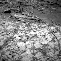 Nasa's Mars rover Curiosity acquired this image using its Right Navigation Camera on Sol 1104, at drive 3058, site number 49