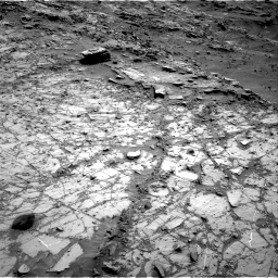 Nasa's Mars rover Curiosity acquired this image using its Right Navigation Camera on Sol 1104, at drive 3064, site number 49