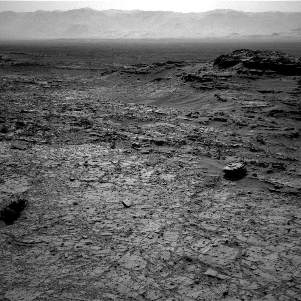 Nasa's Mars rover Curiosity acquired this image using its Right Navigation Camera on Sol 1104, at drive 0, site number 50
