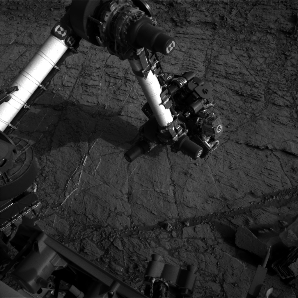 Nasa's Mars rover Curiosity acquired this image using its Left Navigation Camera on Sol 1105, at drive 0, site number 50