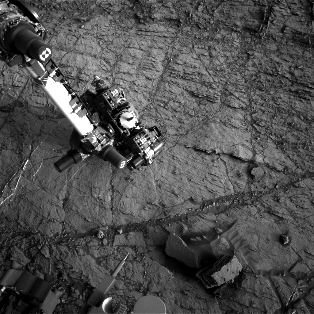 Nasa's Mars rover Curiosity acquired this image using its Right Navigation Camera on Sol 1105, at drive 0, site number 50