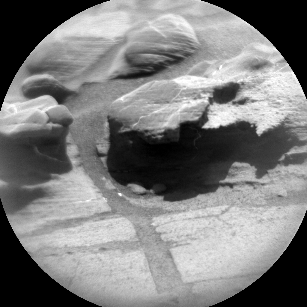 Nasa's Mars rover Curiosity acquired this image using its Chemistry & Camera (ChemCam) on Sol 1105, at drive 0, site number 50