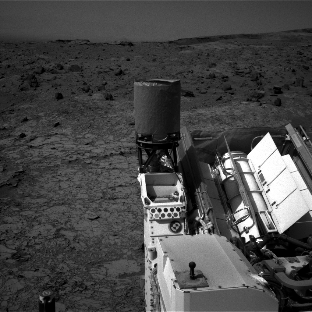 Nasa's Mars rover Curiosity acquired this image using its Left Navigation Camera on Sol 1106, at drive 114, site number 50