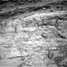 Nasa's Mars rover Curiosity acquired this image using its Right Navigation Camera on Sol 1106, at drive 0, site number 50