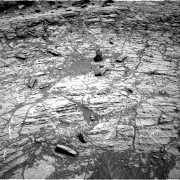Nasa's Mars rover Curiosity acquired this image using its Right Navigation Camera on Sol 1106, at drive 18, site number 50