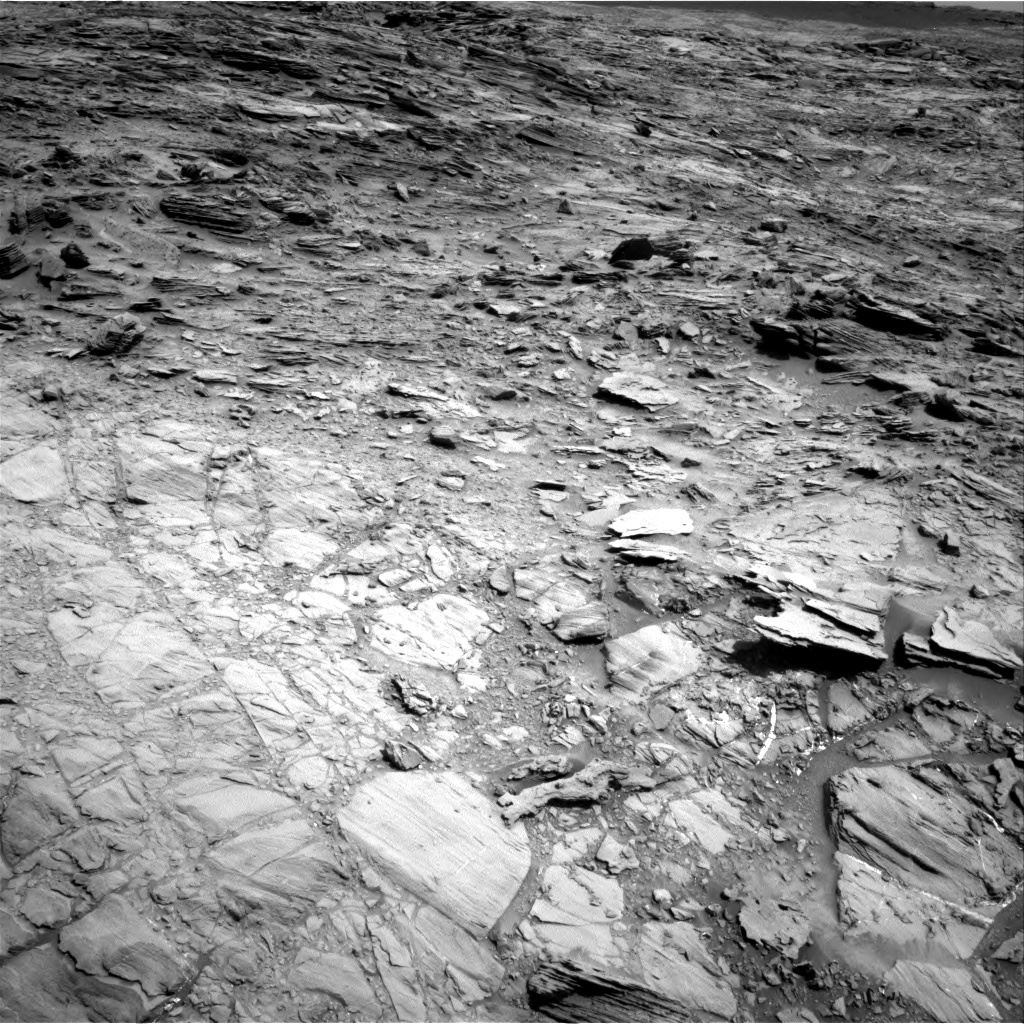 Nasa's Mars rover Curiosity acquired this image using its Right Navigation Camera on Sol 1106, at drive 84, site number 50