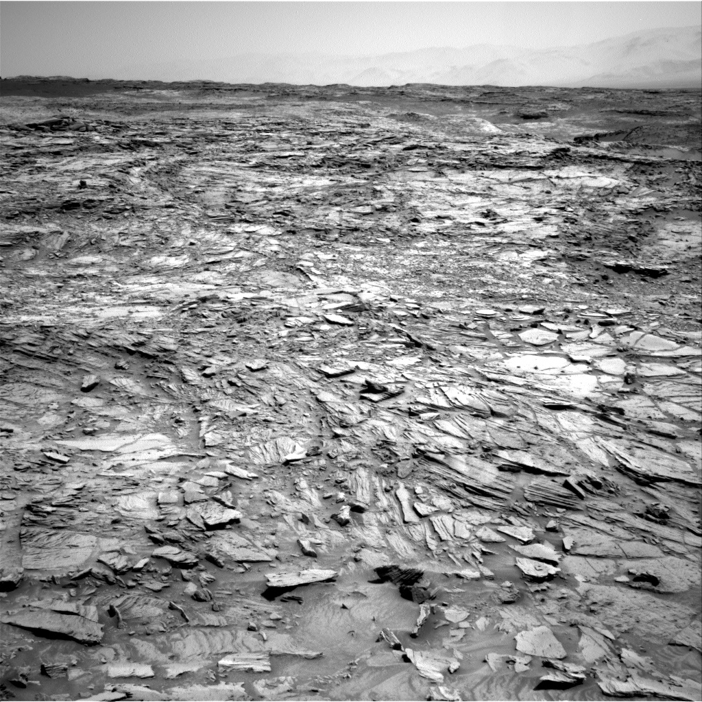 Nasa's Mars rover Curiosity acquired this image using its Right Navigation Camera on Sol 1106, at drive 114, site number 50