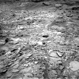 Nasa's Mars rover Curiosity acquired this image using its Left Navigation Camera on Sol 1107, at drive 114, site number 50