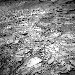 Nasa's Mars rover Curiosity acquired this image using its Left Navigation Camera on Sol 1107, at drive 120, site number 50