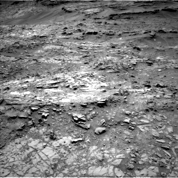 Nasa's Mars rover Curiosity acquired this image using its Left Navigation Camera on Sol 1107, at drive 138, site number 50