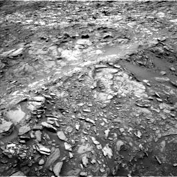 Nasa's Mars rover Curiosity acquired this image using its Left Navigation Camera on Sol 1107, at drive 192, site number 50