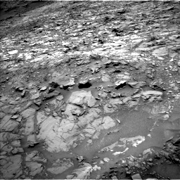 Nasa's Mars rover Curiosity acquired this image using its Left Navigation Camera on Sol 1107, at drive 210, site number 50