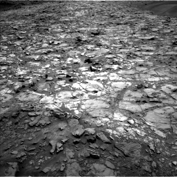 Nasa's Mars rover Curiosity acquired this image using its Left Navigation Camera on Sol 1107, at drive 228, site number 50