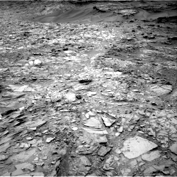 Nasa's Mars rover Curiosity acquired this image using its Right Navigation Camera on Sol 1107, at drive 114, site number 50