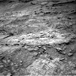Nasa's Mars rover Curiosity acquired this image using its Right Navigation Camera on Sol 1107, at drive 132, site number 50