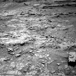 Nasa's Mars rover Curiosity acquired this image using its Right Navigation Camera on Sol 1107, at drive 144, site number 50
