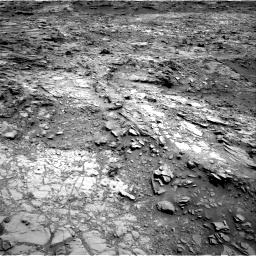 Nasa's Mars rover Curiosity acquired this image using its Right Navigation Camera on Sol 1107, at drive 156, site number 50