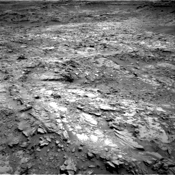 Nasa's Mars rover Curiosity acquired this image using its Right Navigation Camera on Sol 1107, at drive 162, site number 50