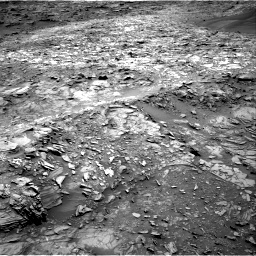 Nasa's Mars rover Curiosity acquired this image using its Right Navigation Camera on Sol 1107, at drive 180, site number 50