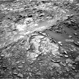 Nasa's Mars rover Curiosity acquired this image using its Right Navigation Camera on Sol 1107, at drive 198, site number 50