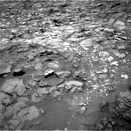 Nasa's Mars rover Curiosity acquired this image using its Right Navigation Camera on Sol 1107, at drive 216, site number 50