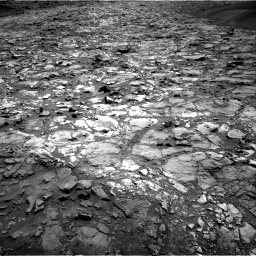 Nasa's Mars rover Curiosity acquired this image using its Right Navigation Camera on Sol 1107, at drive 222, site number 50