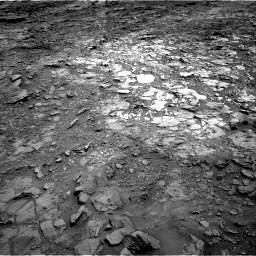 Nasa's Mars rover Curiosity acquired this image using its Right Navigation Camera on Sol 1107, at drive 240, site number 50