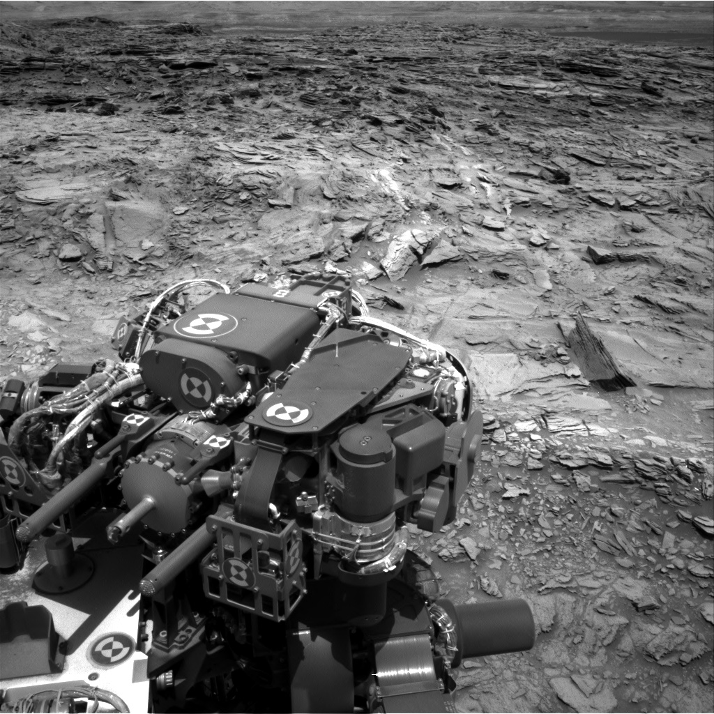 Nasa's Mars rover Curiosity acquired this image using its Right Navigation Camera on Sol 1107, at drive 250, site number 50