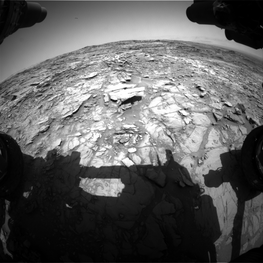 Nasa's Mars rover Curiosity acquired this image using its Front Hazard Avoidance Camera (Front Hazcam) on Sol 1108, at drive 250, site number 50