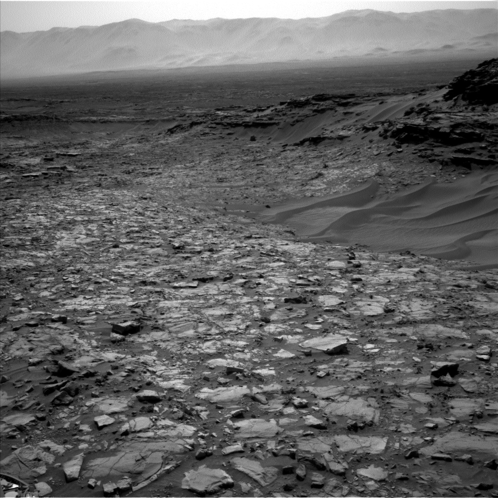 Nasa's Mars rover Curiosity acquired this image using its Left Navigation Camera on Sol 1108, at drive 322, site number 50