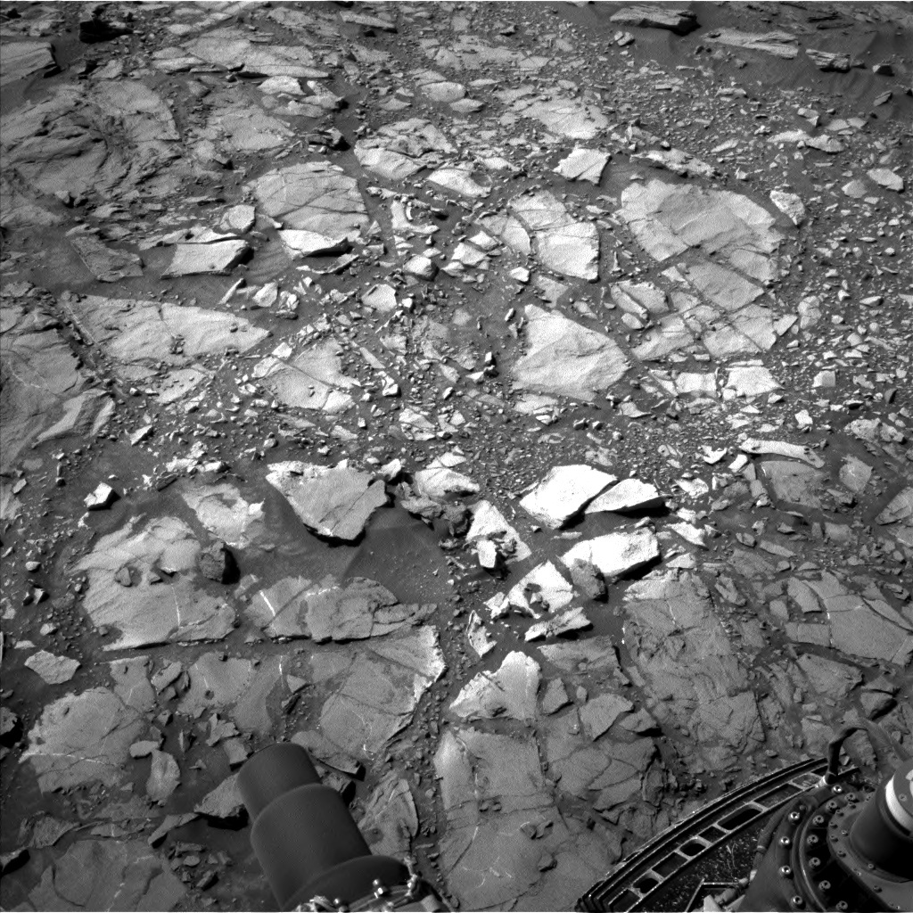 NASA's Mars rover Curiosity acquired this image using its Left Navigation Camera (Navcams) on Sol 1108